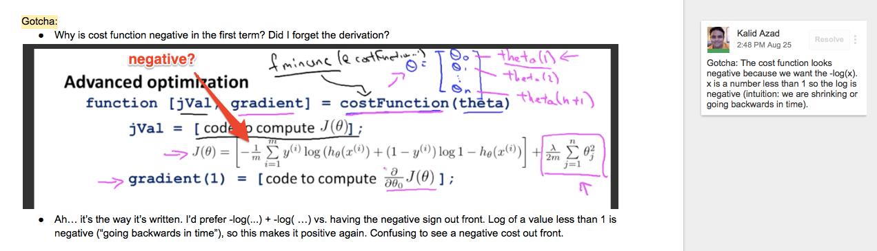 clarify formula